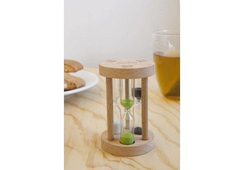Kikkerland Trio tea timer