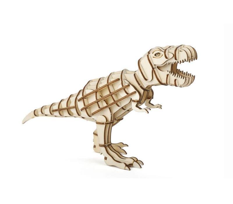 3D T-Rex houten puzzel