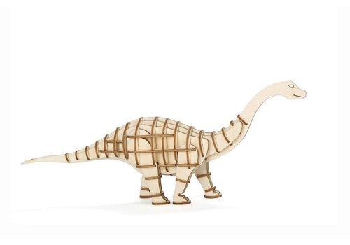 Kikkerland 3D Apatosaurus wooden puzzle