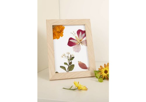 Kikkerland Make your own pressed flower frame art