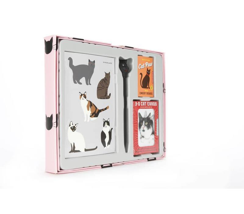Cadeauset voor kattenliefhebbers