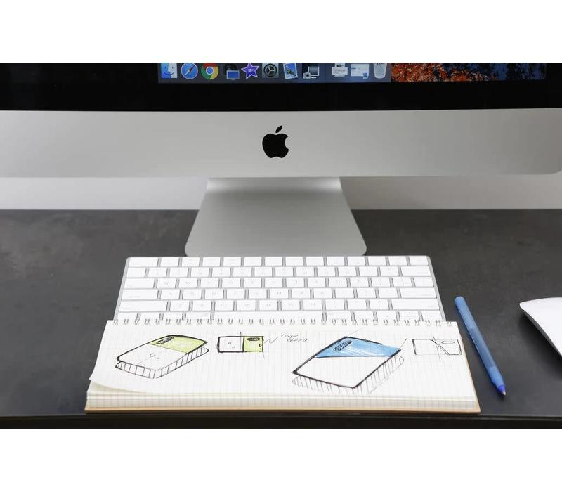 Keyboard notebook kraft