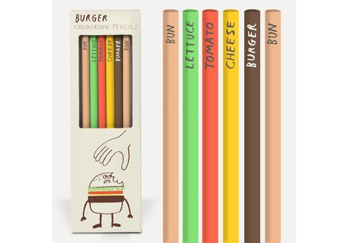 Potlodenset Burger pencils