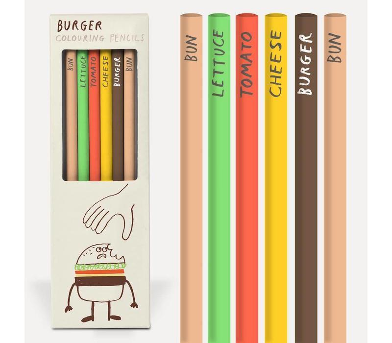 Potlodenset Burger pencils