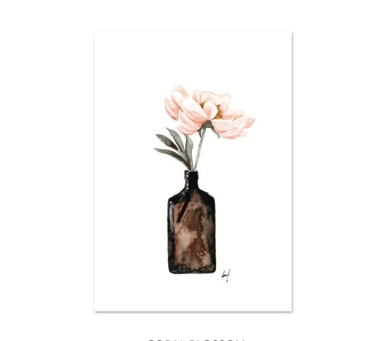 Artprint A3 - Coral Blossom