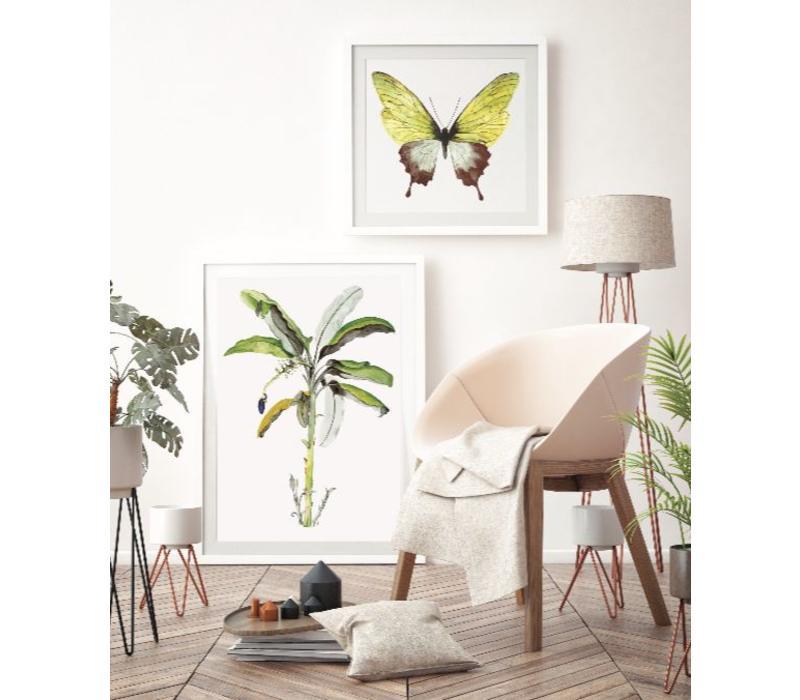 Artprint A3 - Green Butterfly