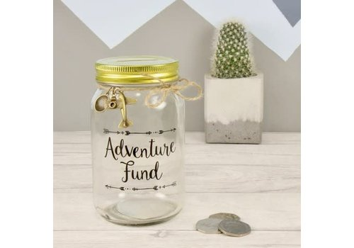 Sass & Belle Adventure fund jar moneybox