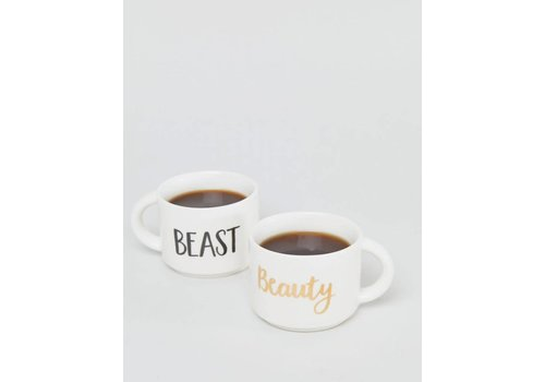 Sass & Belle Set of 2 Beauty & Beast mug