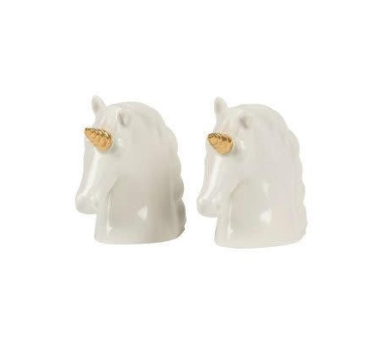 Unicorn salt & pepper set