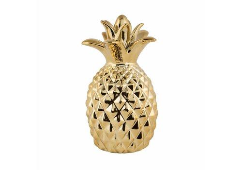 Sass & Belle Gold pineapple money box