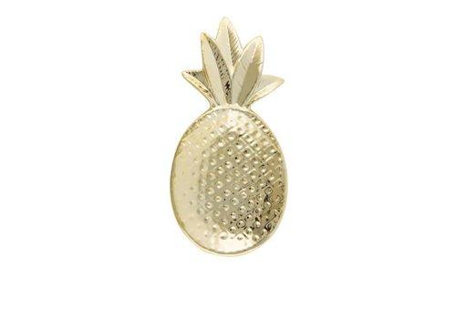 Sass & Belle Gold pineapple shaped trinket dish
