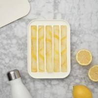 Water bottle ice tray-white