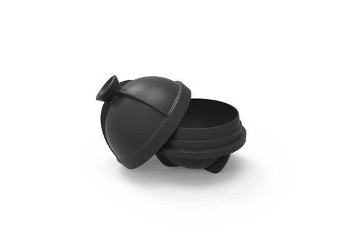 MOX studio Single sphere ice mold charcoal