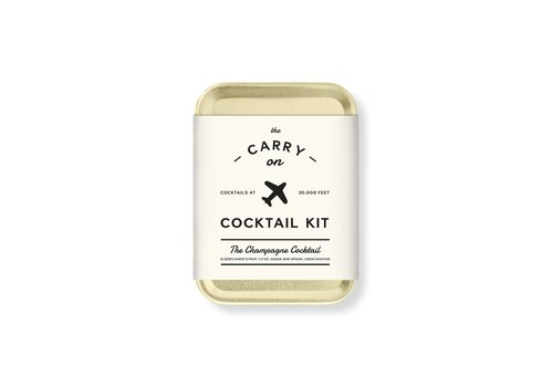 MOX studio Carry on cocktail kit, the champagne cocktail