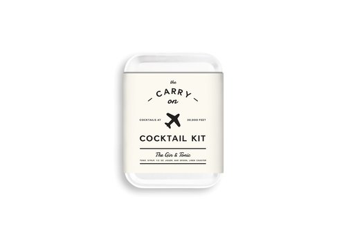 MOX studio Carry on cocktail kit, gin & tonic