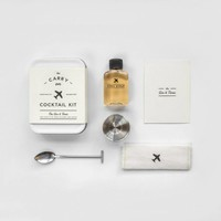Carry on cocktail kit, gin & tonic