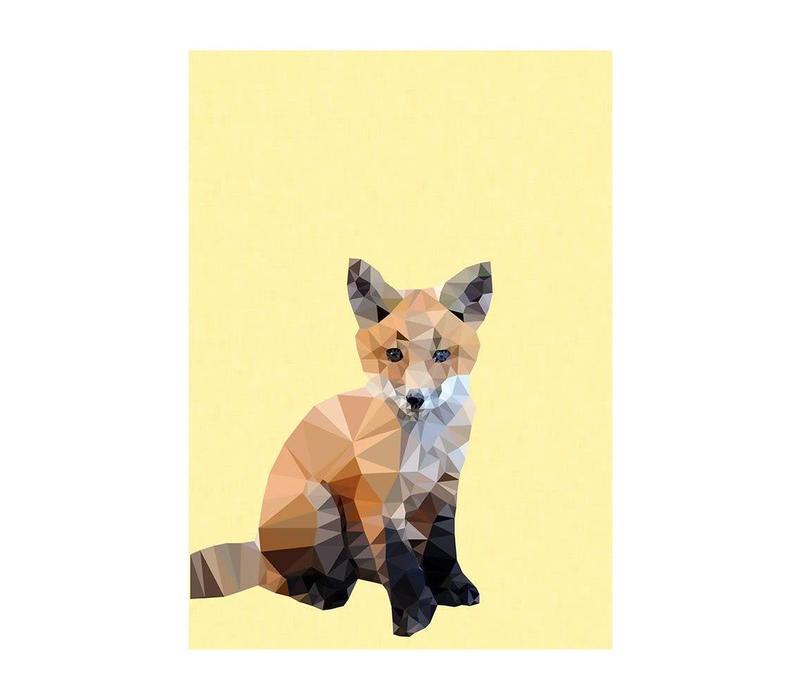 Woodland Fox A3