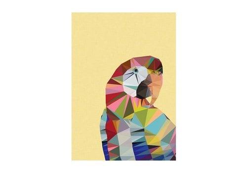 East End Prints Macaw A3