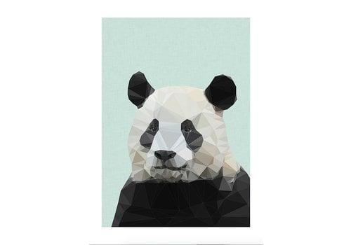 East End Prints Panda A3