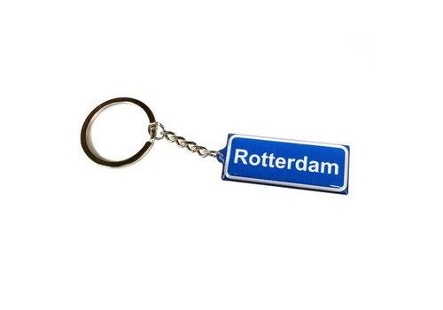 Sleutelhanger met Rotterdam naambord
