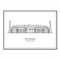 Stadion 50x70cm
