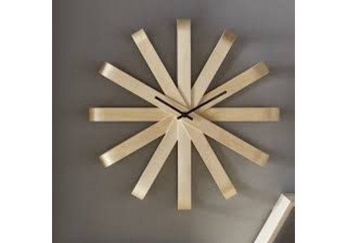 Ribbonwood clock naturel