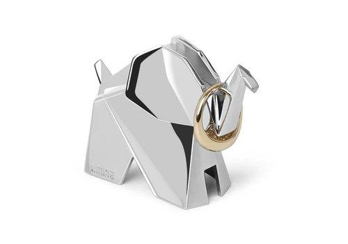 Origami Ringhouder olifant chrome