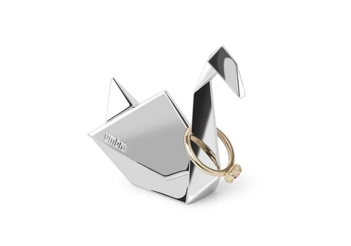 Origami Ringhouder zwaan chrome