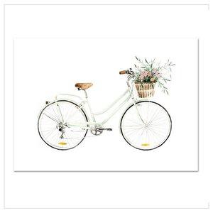 Leo La Douce Artprint A4 - Bicycle love