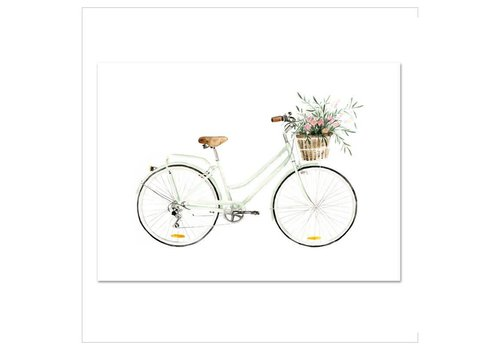 Leo La Douce Artprint A4 - Bicycle love