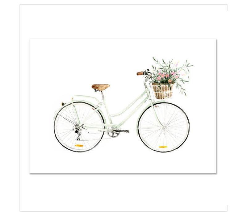Artprint A4 - Bicycle love