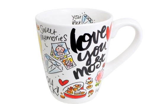 BLOND AMSTERDAM Mug Love you mum