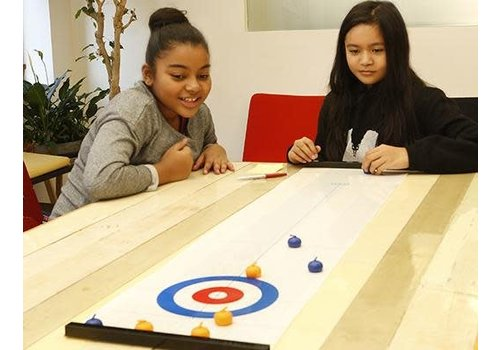 Kikkerland Table top curling game