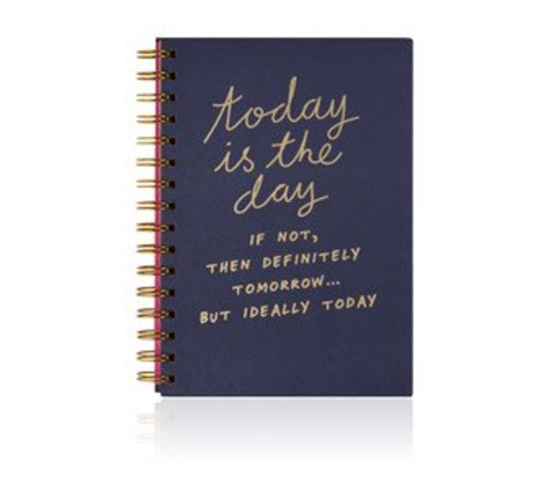 Notes To Self Today Is The Day Notebook Kkec