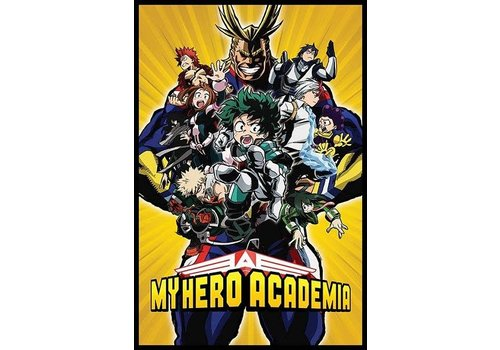 my hero academia radial characters burst