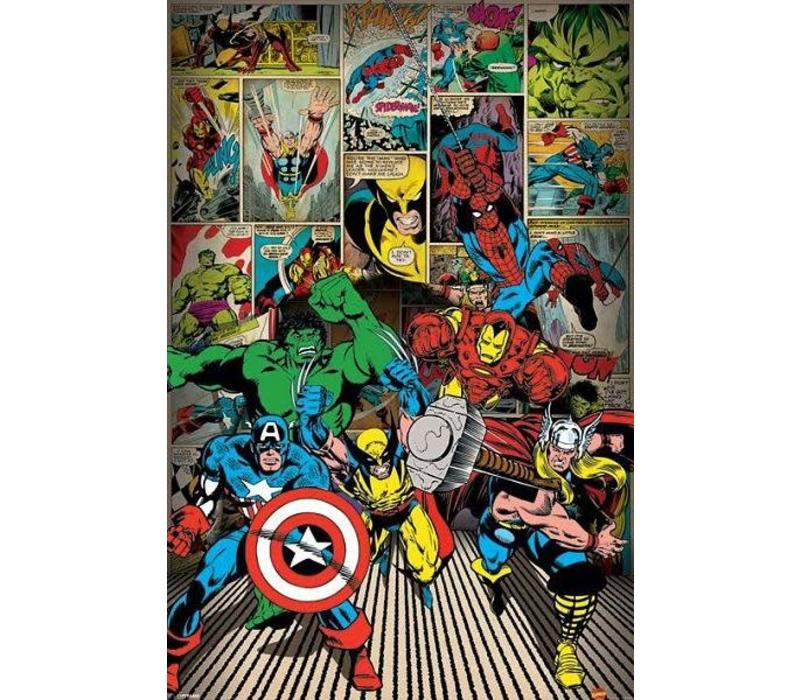 marvel here come the heroes