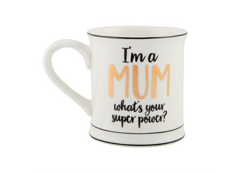 Sass & Belle MUM superpower mug