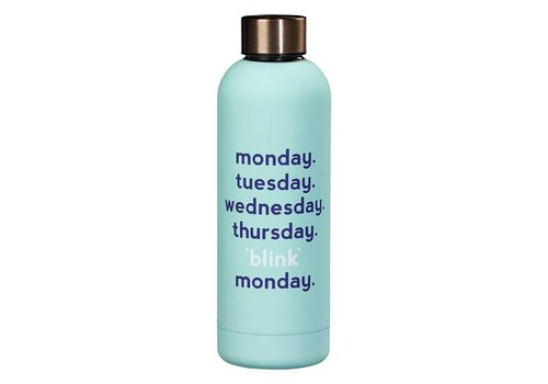 Cortina Water Bottle - Monday blink fles