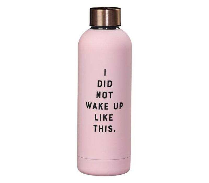 Water Bottle - I did not fles