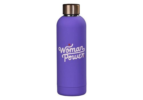Cortina Water Bottle - Woman Power fles