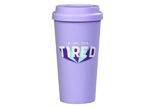 Cortina Travel Mug - 110% Tired