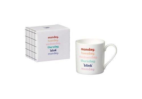 Cortina Mug - Monday blink mok