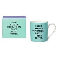 Mug - I don't need mok