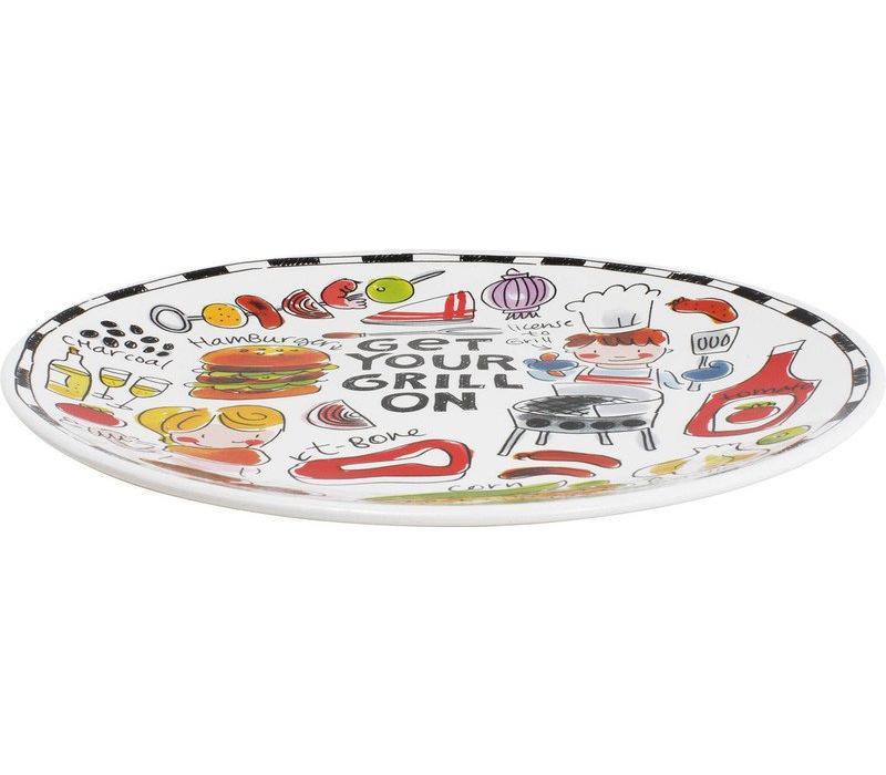 BBQ bord hamburger