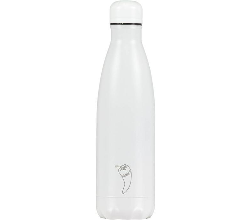 Chilly's bottle 500ml All white