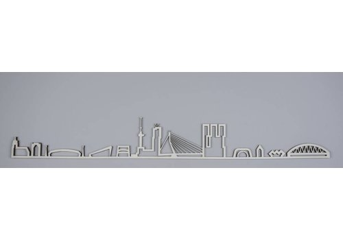 Cityshapes Skyline Rotterdam hout 95cm