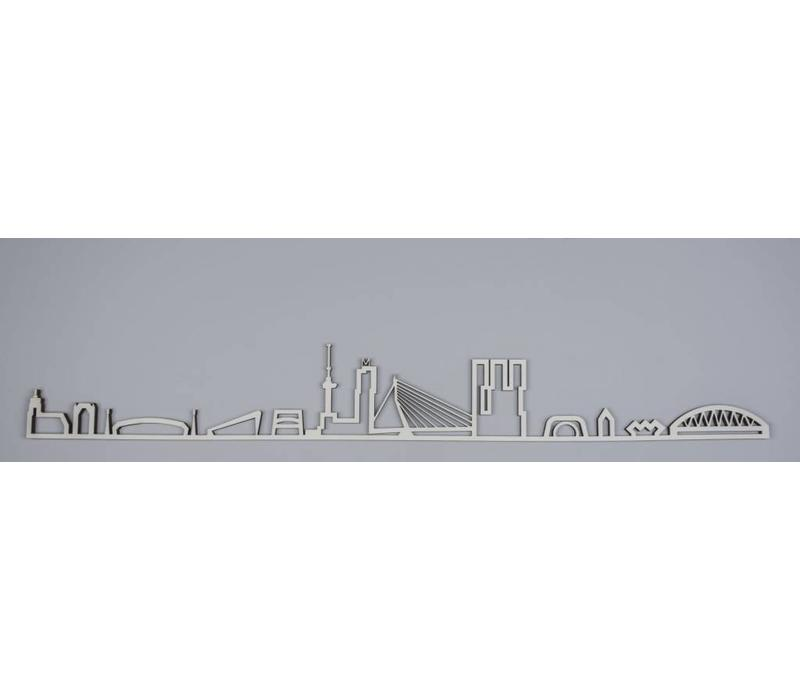 Skyline Rotterdam hout 95cm