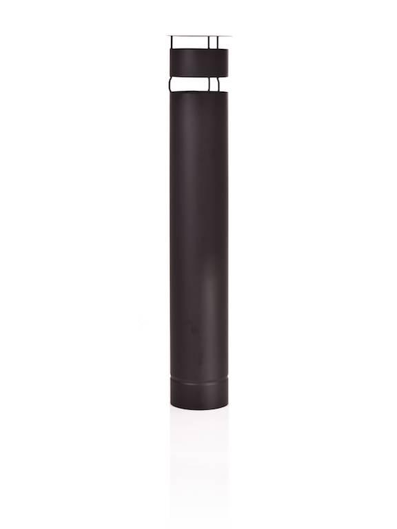 Stofey Stofey XL rvs buitenhaard zwart/antraciet