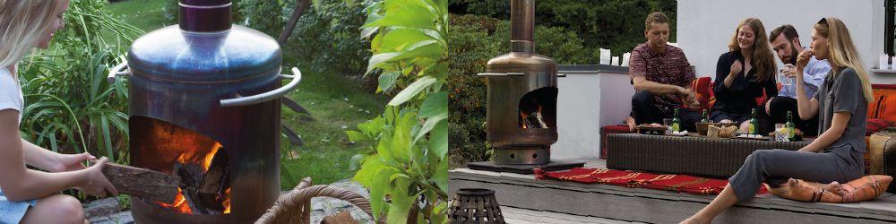 Original webshop for Stofey outdoor fireplaces