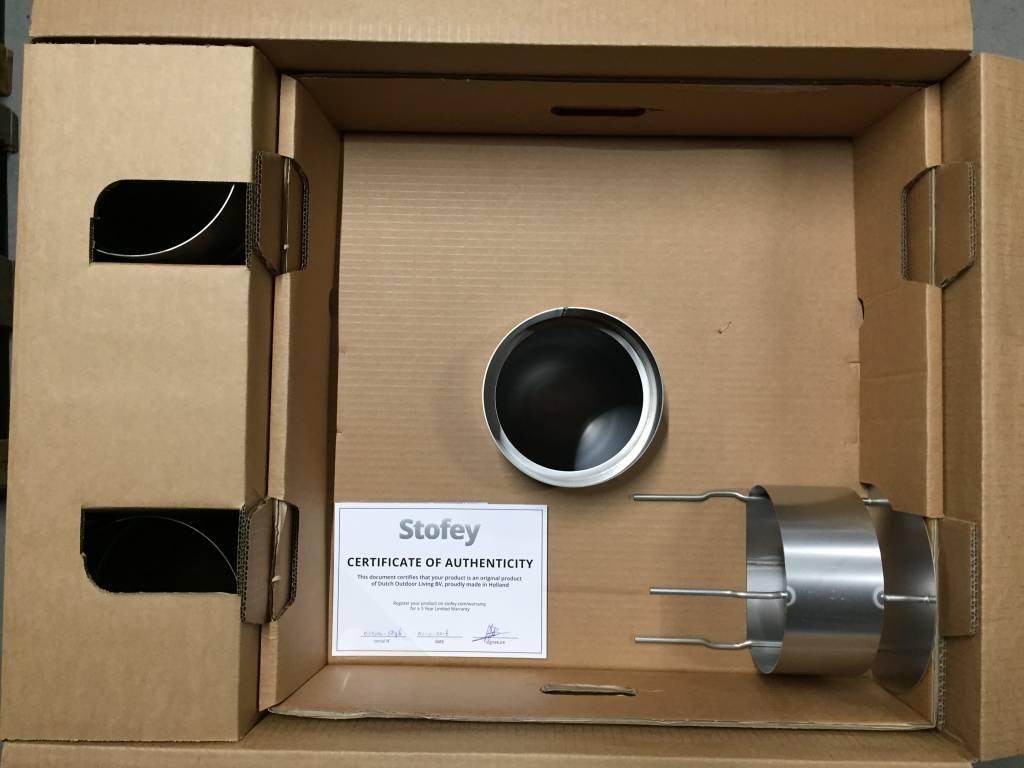 Stofey Stofey XL+ udendørs pejs af rustfrit stål